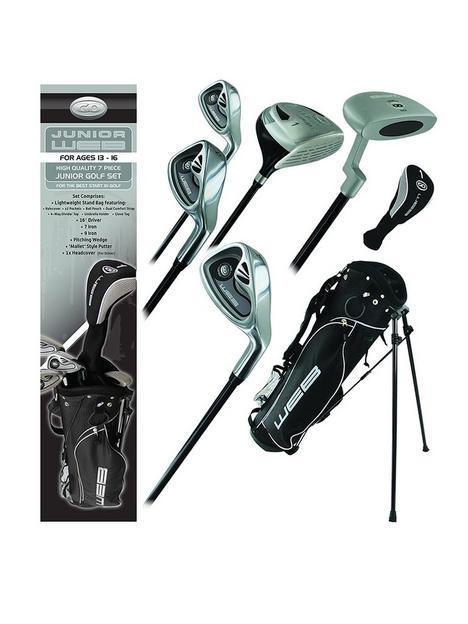go-golf-go-junior-web-golf-box-set-charcoal-ages-13-16