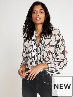 mint-velvet-olivia-print-zip-front-blouse-grey