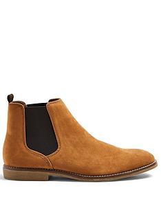 topman-spark-suede-chelsea-boots--nbsptan