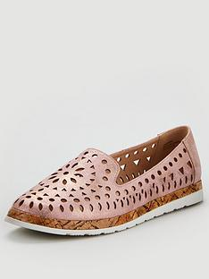 wallis-lasercut-ballerina-shoes-blush