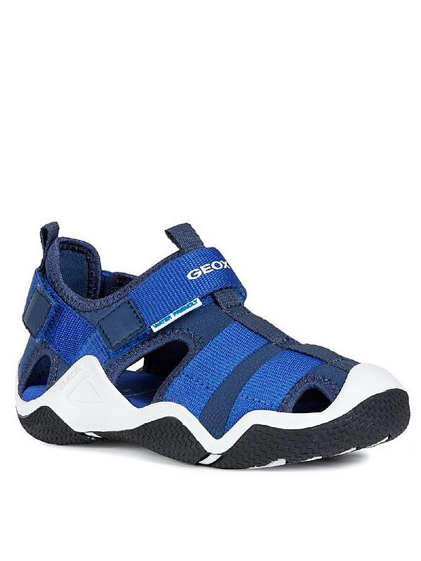 Geox Boys Jr Wader a Closed Toe Sandals