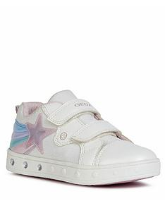 geox-girls-skyline-strap-trainers-white