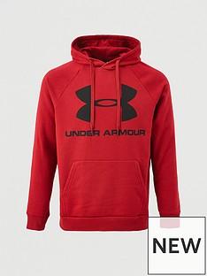 under-armour-rival-fleece-logo-overhead-hoodie-burgundy
