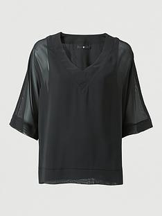 v-by-very-v-neck-batwing-top-black