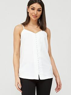 v-by-very-button-through-longline-cami-ivory