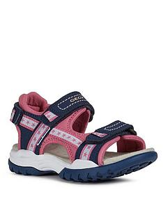 geox-girls-borealis-sandals-navy
