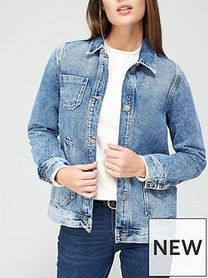 v-by-very-patch-pocket-denim-jacket-vintage-wash