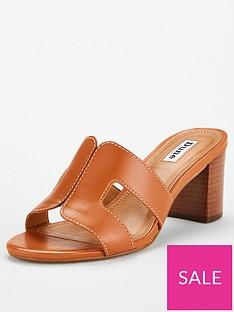 dune-london-joupe-smart-slide-heeled-sandals-tan