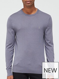 allsaints-mode-merino-crew-neck-jumper-blue