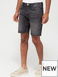 allsaints-switch-denim-shorts--nbspwashed-black