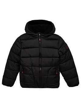v-by-very-boysnbspschool-shower-proofnbsppadded-hooded-coat-black