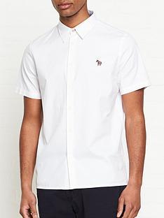 ps-paul-smith-zebra-logo-short-sleeve-oxford-shirt--nbspwhite