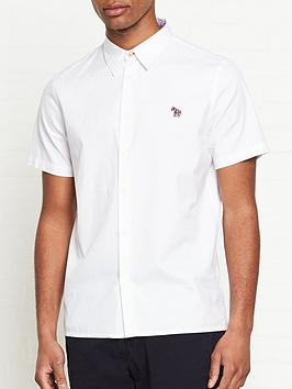 ps-paul-smith-zebra-logo-short-sleeve-oxford-shirt--nbspwhite