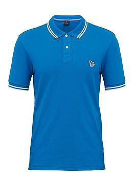 ps-paul-smith-zebra-logo-tipped-polo-shirt-blue