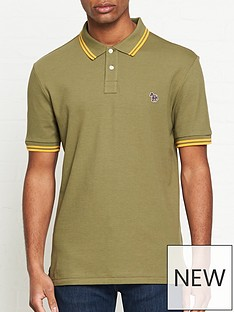 ps-paul-smith-zebra-logo-tipped-polo-shirtnbsp-nbspkhaki