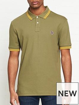 ps-paul-smith-zebra-logo-tipped-polo-shirtnbsp-nbspkhaki