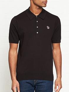 ps-paul-smith-zebra-logo-knitted-polo-shirt--nbspblack