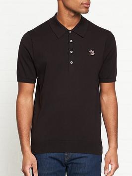 ps-paul-smith-zebra-logo-knitted-polo-shirt--nbspblack