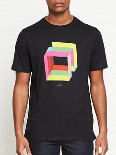 ps-paul-smith-cube-print-t-shirt-black