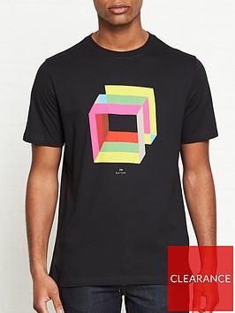 ps-paul-smith-cube-print-t-shirt-black