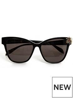 alexander-mcqueen-sunglasses-cateye-sunglasses-black