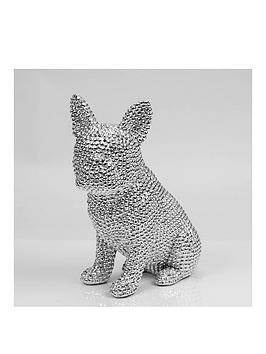 silver-stud-detail-dog-figurine