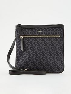 dkny-casey-zip-top-cross-body-bag-black