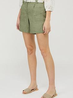 monsoon-lottie-100-linen-short