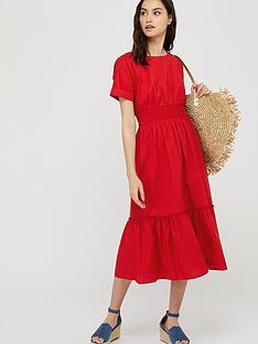 monsoon-pippa-100-organic-cotton-poplin-dress-red