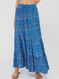 monsoon-wren-hand-screen-ecovero-skirt-blue