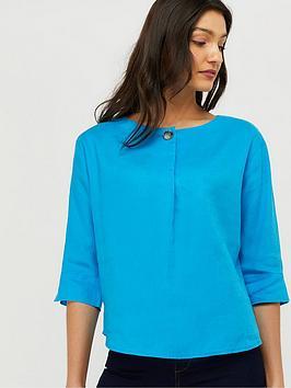 monsoon-scarlet-100-linen-t-shirt-blue