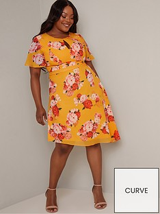 chi-chi-london-curve-darya-dress-yellow