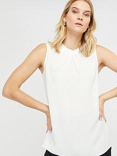 monsoon-lucie-pleat-tank-top-ivory