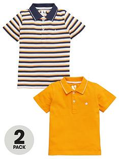 v-by-very-boys-2-pack-stripe-plain-polo-shirts--nbspnavy
