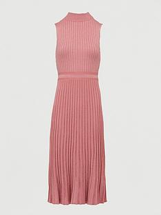 v-by-very-high-neck-knitted-pencil-dress-blush