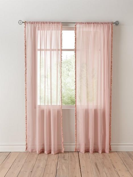 pom-pom-trim-slot-top-voile-curtains