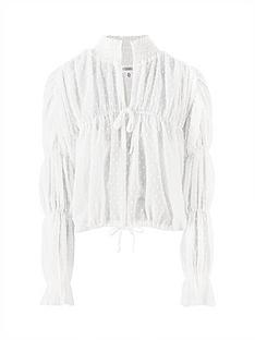 missguided-missguided-dobby-mesh-poet-sleeve-top-white