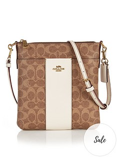 coach-kitt-colourblock-coated-canvas-signature-print-cross-body-bag-tanwhite