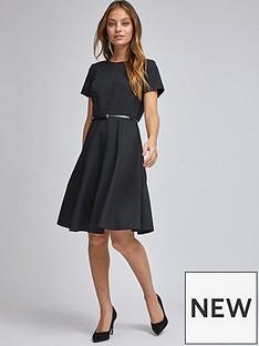 dorothy-perkins-dorothy-perkins-petites-black-belted-dress