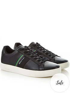 ps-paul-smith-mens-rex-leather-trainers--nbspblack