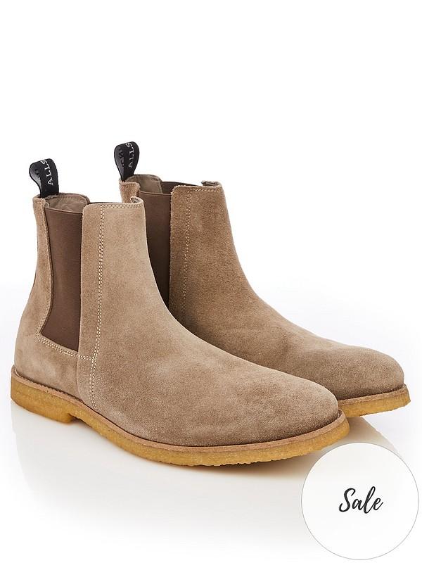 mens suede chelsea boots uk