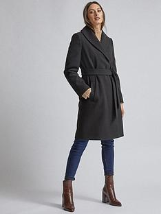 dorothy-perkins-dorothy-perkins-black-shawl-wrap-coat-black