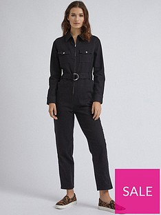 dorothy-perkins-dorothy-perkins-zip-boilersuit-black