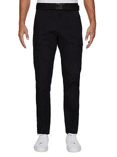 tommy-hilfiger-cargo-pant-black