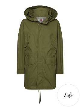 tommy-hilfiger-parka-coat-green