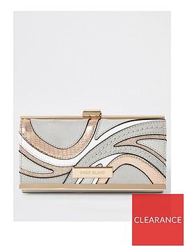 river-island-swirl-cliptop-purse-grey