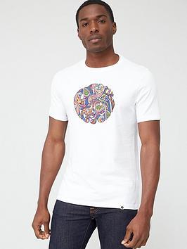 pretty-green-thornley-paisley-logo-short-sleeve-t-shirt-white
