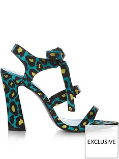 kat-maconie-exclusive-rhia-leopardnbspprint-multi-strap-tie-high-heel-shoes-green