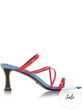 kat-maconie-pari-multi-strap-neon-mules-multicolour
