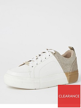 river-island-river-island-gold-splice-lace-up-trainer-white